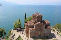 monastère d'Ohrid en Macédoine
