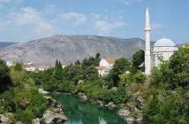 mostar mosquee neretva