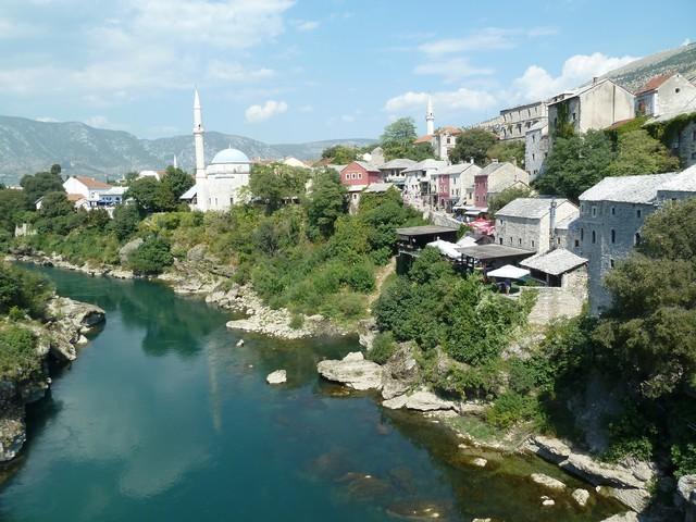 mostar neretva bosnie