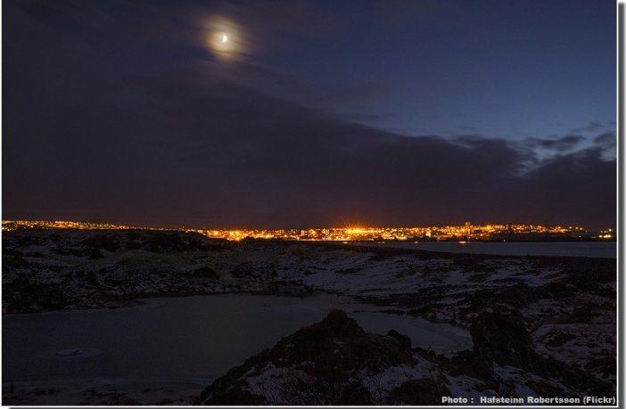 nuit en Islande