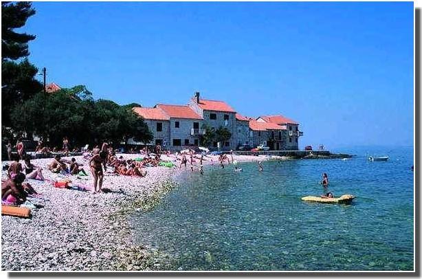 plage bol en croatie