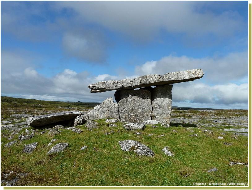 poll na bron poulnabrone dolmen Irlande