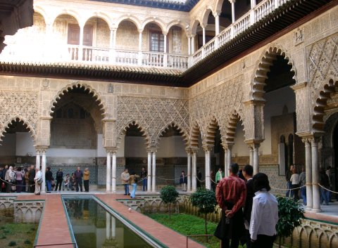 reales alcazares Alcazar de Seville