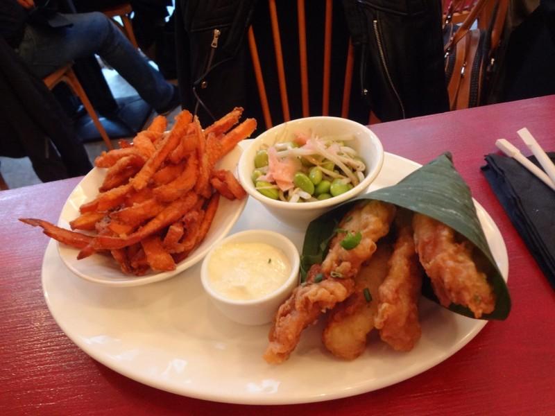 restaurant john weng paris 10 nuggets de poisson