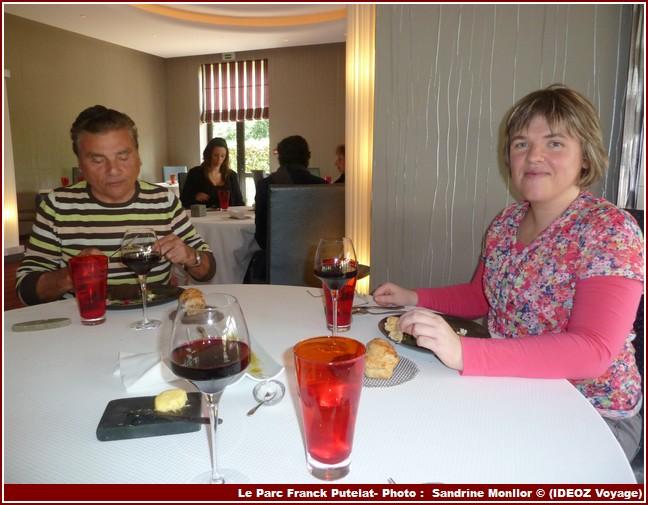 Le parc de franck putelat excellent restaurant carcassonne - Les tables de franck ...