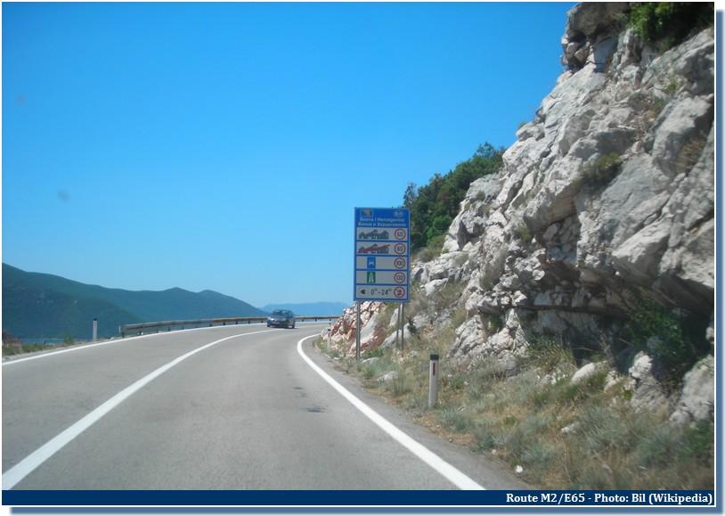 route en croatie