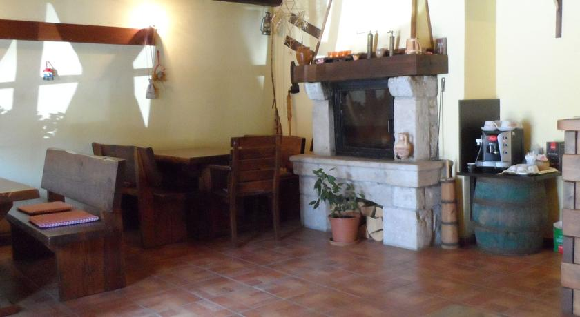 ruhige lage Plitvice cheminée