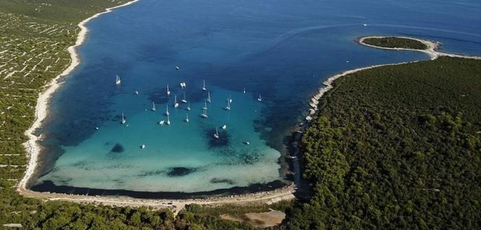 saharun plage de sable en croatie