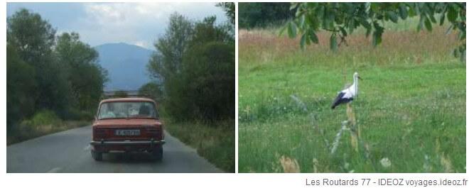 sur la route de Dobarsko en Bulgarie