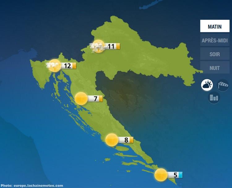 Temps En Croatie Selon La Saison M 233 T 233 O Et Climat En Croatie