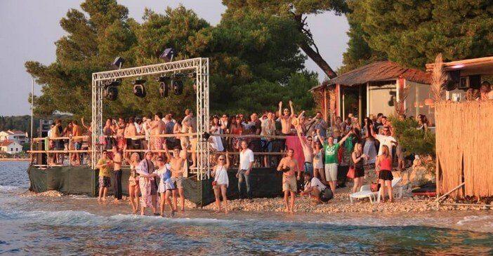 the garden festival musical à zadar