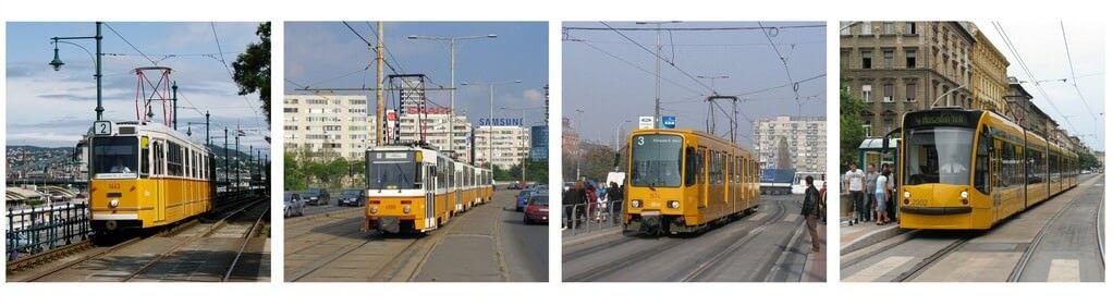 trams à Budapest