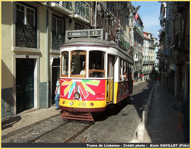 trams lisbonne