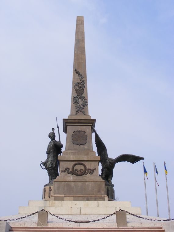 tulcea monument aux morts