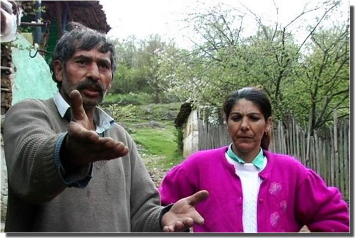 tziganes serbes homme et femme