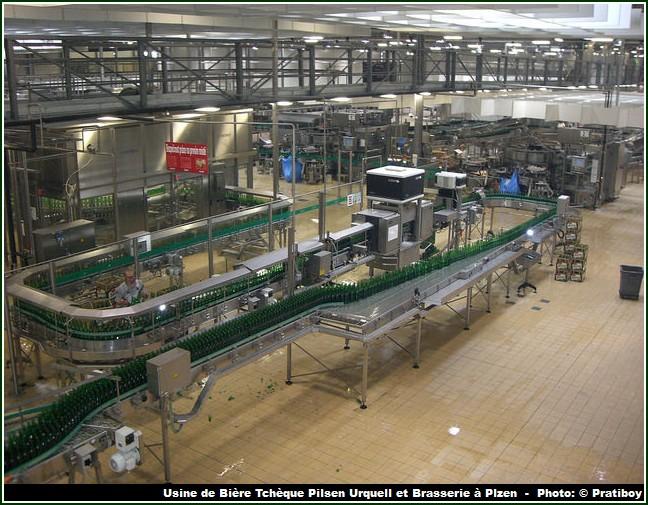 usine pilsner urquell Plzen