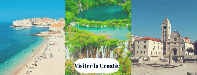 visiter la croatie idée de visites