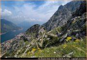 Sentier de la citadelle de Kotor
