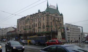 belgrade en hiver hotel moskva