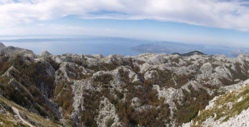 Biokovo en Croatie