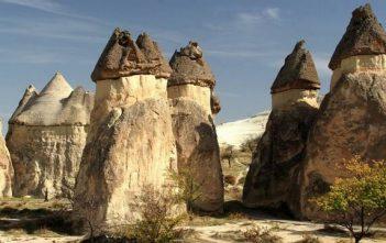 Cappadoce Goreme cheminées des fées