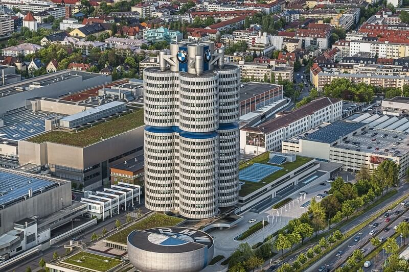 Munich complexe BMW Tour