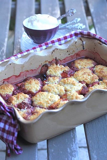 recette de cobbler aux fruits rouges