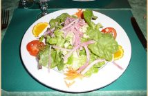 restaurant au petit gazouillis castelnaudary salade composee