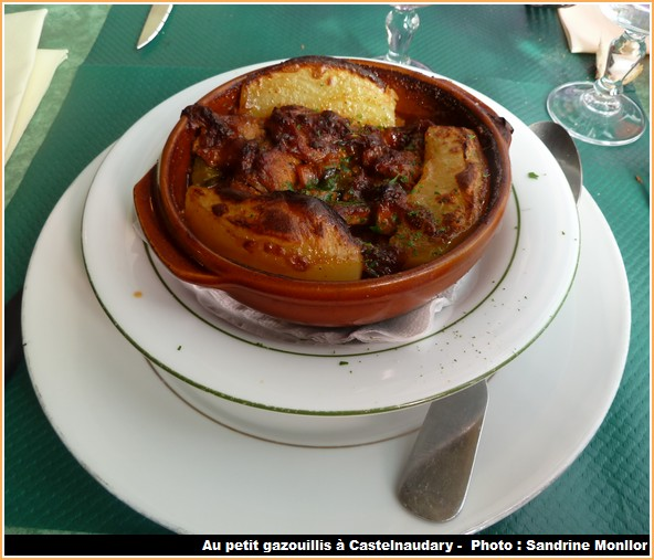 tripes a l'armagnac restaurant petit gazouillis castelnaudary