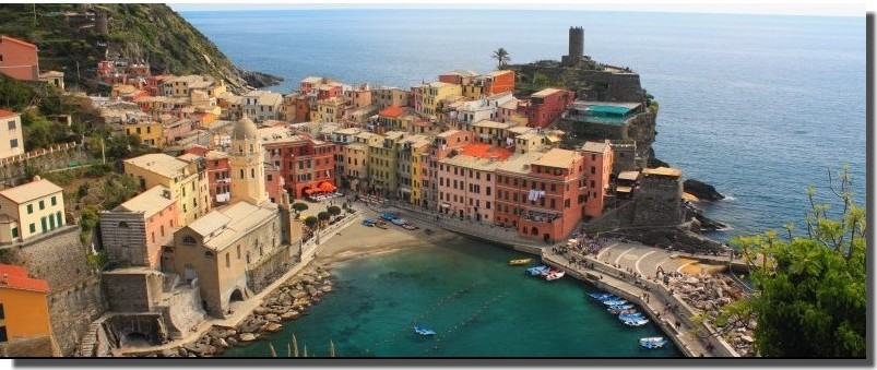 Cinque Terre, la Riviera Ligure du Levant (Voyage Italie)