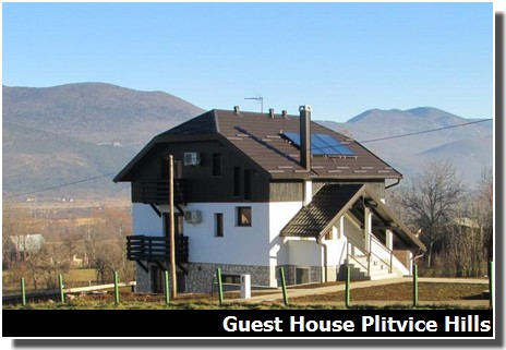 Guest house plitvice hills