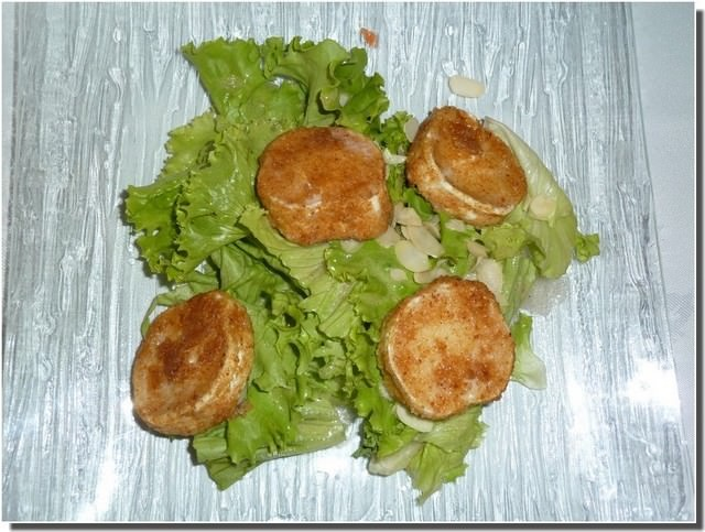 La calèche peyrens salade de chèvre