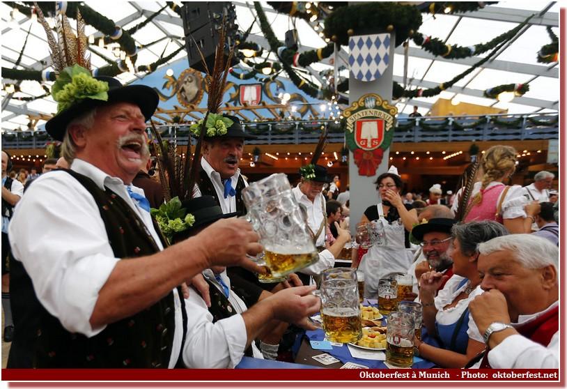 Oktoberfest Munich ouverture de la fête de la bière