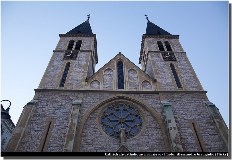 Sarajevo cathedrale catholique