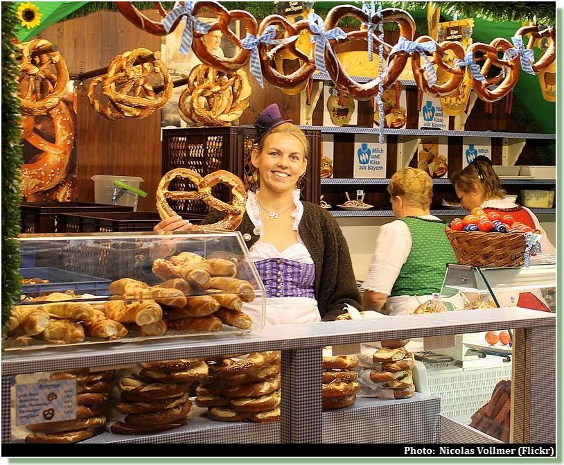 bretzels oktoberfest munich