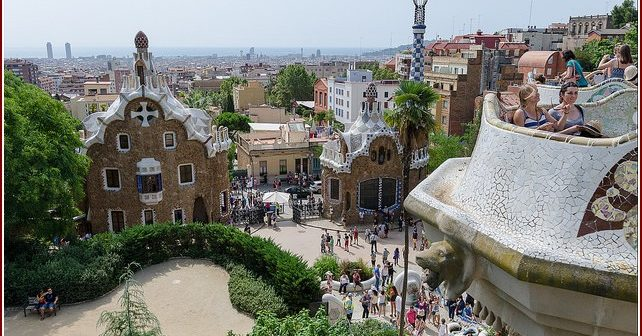 parque guell barcelone