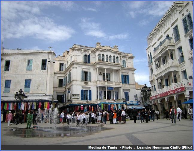 tunis medina Croisière en méditerranée