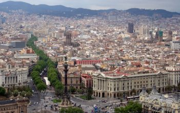 Barcelona panorama