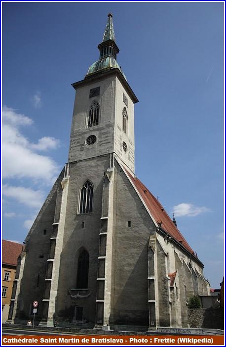 Bratislava Cathedrale Saint Martin