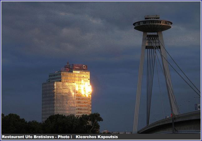 Bratislava restaurant UFO