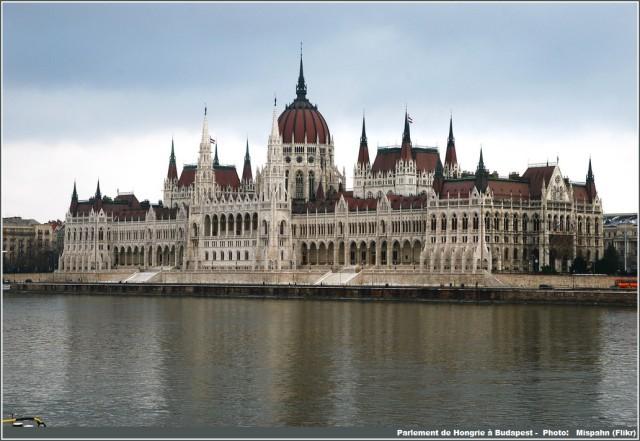 Budapest parlement et danube