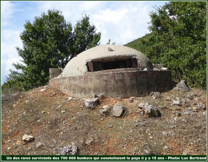 Bunker Gorça Albanie