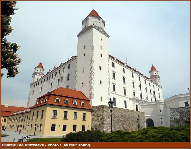 Chateau de Bratislava batiments