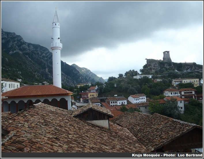 Kruja mosquee albanie