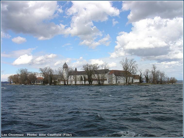 Lac Chiemsee Monastère Fraueninsel