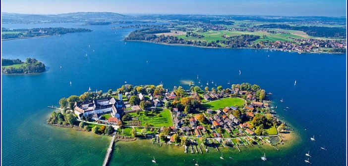 Lac chiemsee fraueninsel