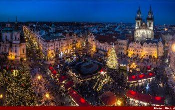 Marché de noel Prague