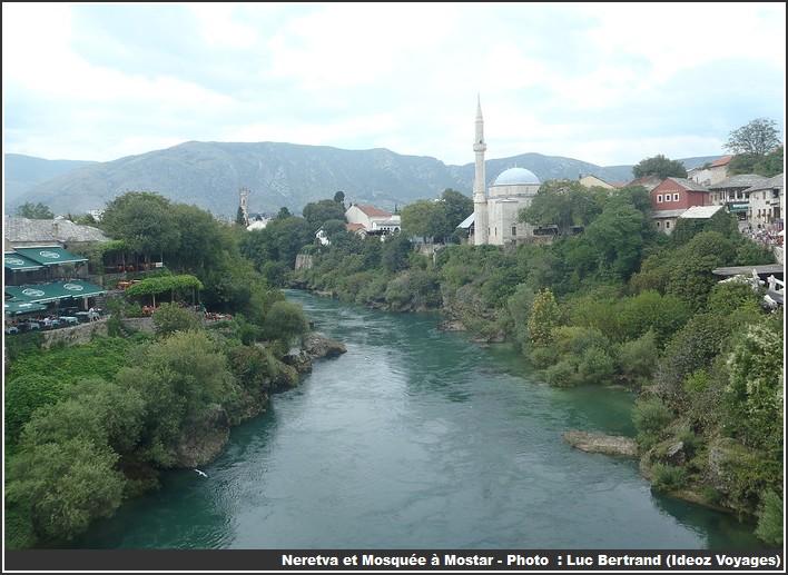 Mostar Neretva et mosquee
