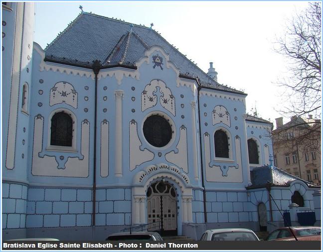 Porte eglise Sainte Elisabeth Bratislava