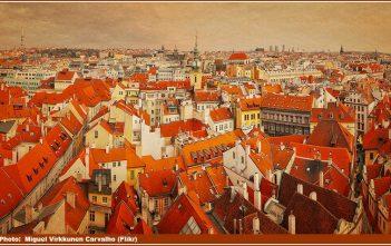 Prague toits panorama